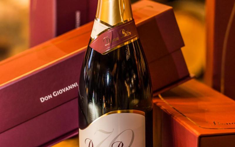 Vinícola Don Giovanni lança o espumante Dona Bita 70 meses numa homenagem aos setenta anos de Beatriz Dreher Giovannini