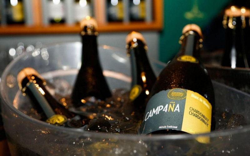 Bodega Sossego lança o espumante Camp4ña Chardonnay Chardonnay