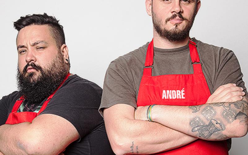 Ovo Gastronomia recebe dupla da Batalha dos Cozinheiros em evento com plateia