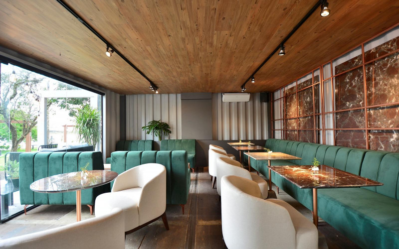 Projeto contemporâneo combina beleza, naturalidade e aromas com o Café Veritas
