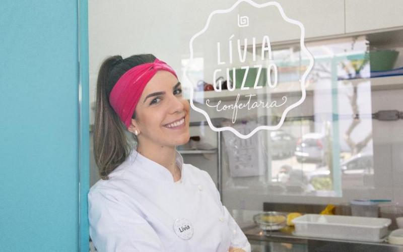Lívia Guzzo Confeitaria faz sucesso da sua nova sede na Zona Sul da Capital