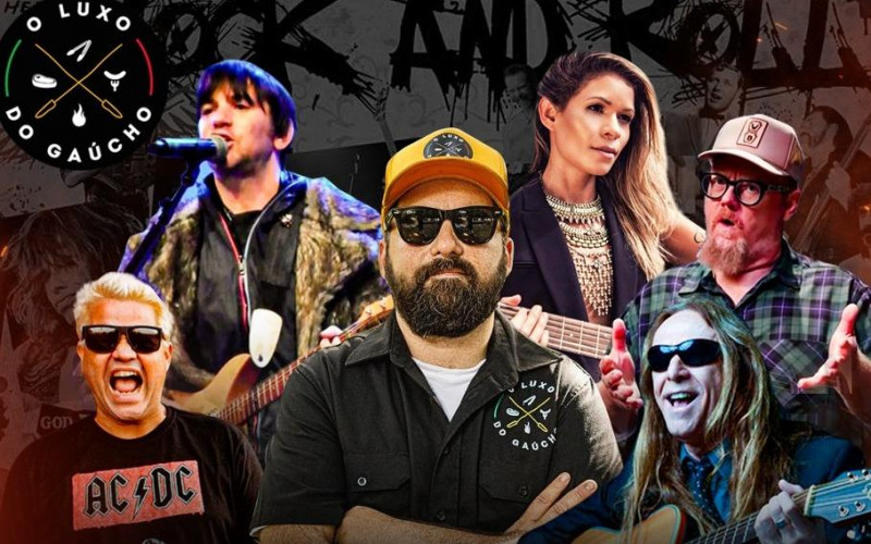Dia Mundial do Rock com um mês de promoções, combos e homenagens a músicos gaúchos