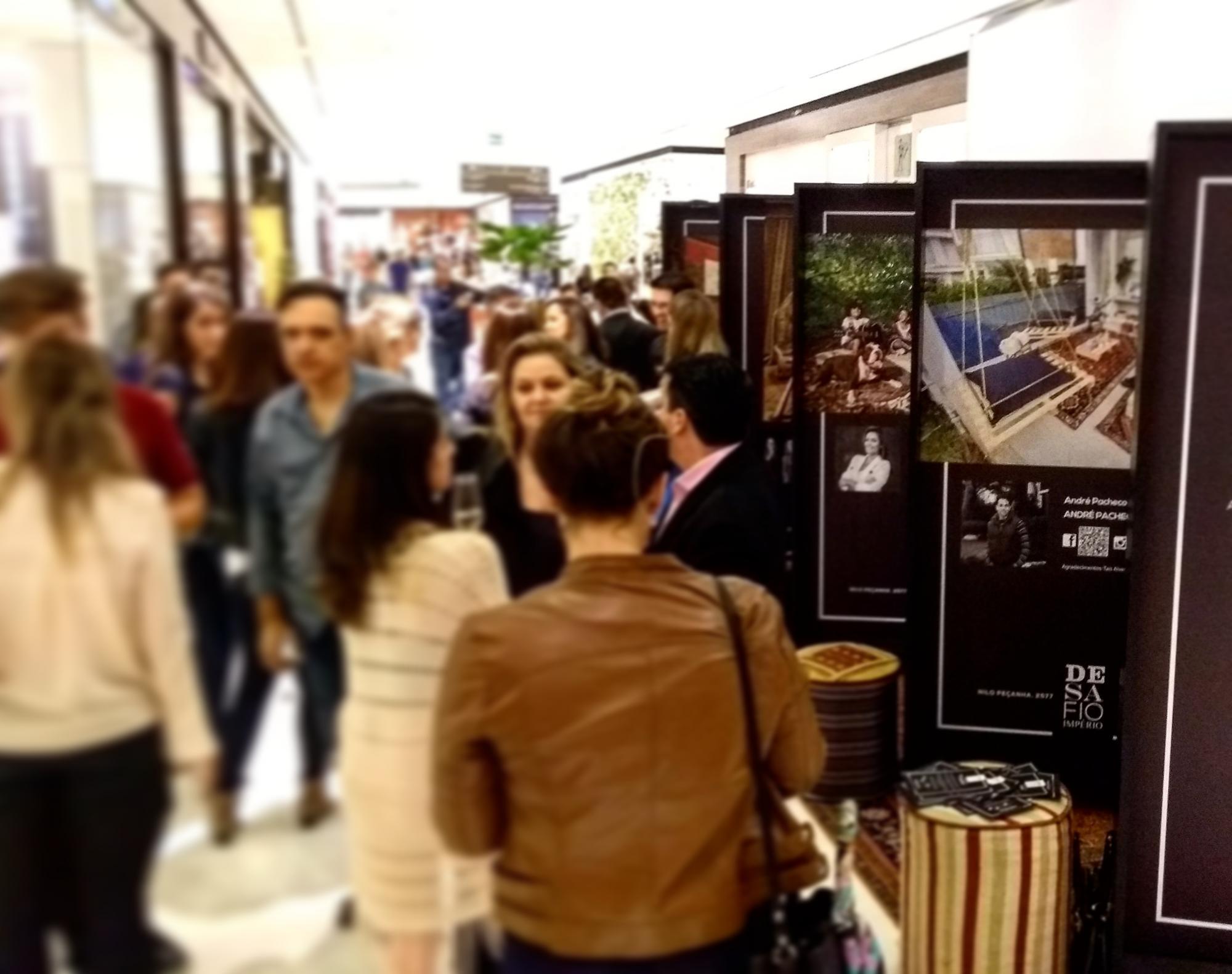 Desafio Império Persa apresenta exposição de fotos no Shopping Iguatemi em Porto Alegre